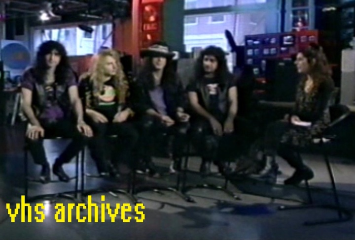 VHS Archives #10:  KISS band interview1992