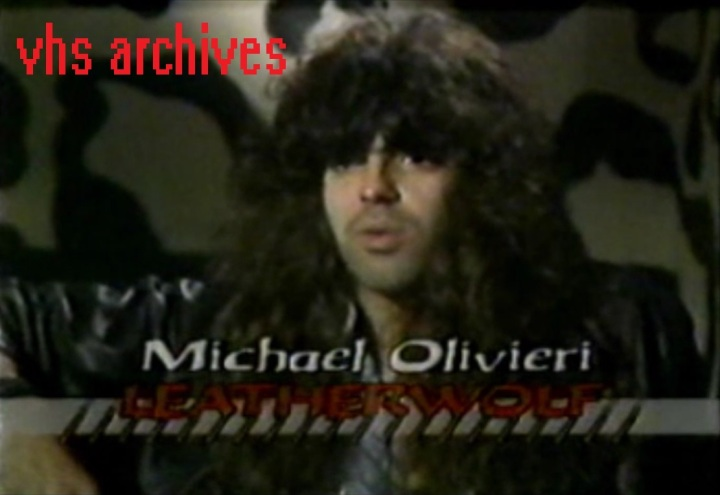 VHS Archives #31:  Geoff and Michael of Leatherwolf chat with MuchMusic(1988)