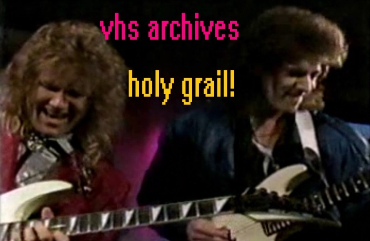 VHS Archives #25:  Rik Emmett of Triumph – the Holy Grail of videos – Power Hour 1987 liveperformance!