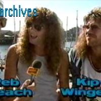 VHS Archives #21:  Winger on MuchWest (1990)