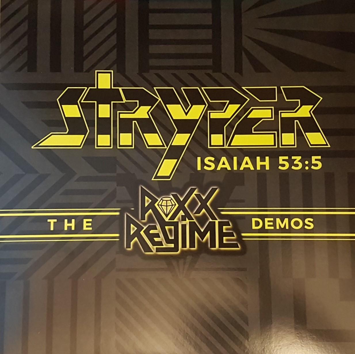 REVIEW: Stryper – The Roxx Regime Demos (2007, 2019 vinyl
