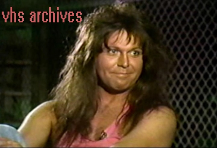 VHS Archives #43:  The best Blackie Lawless (W.A.S.P.) interview you'll ever see(1989)