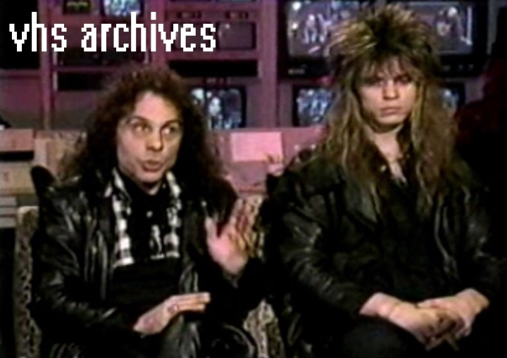 VHS Archives #35:  Ronnie James Dio talks Satanism in Metal(1987)