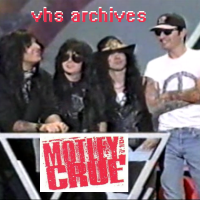 VHS Archives #60:  Motley Crue's first appearance with John Corabi (1993)