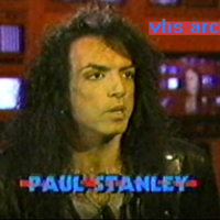 VHS Archives #59:  Paul Stanley in the Much studios (1989)