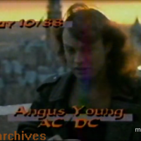 VHS Archives #71:  Angus Young of AC/DC - MuchMusic rooftop interview Part I (1988)
