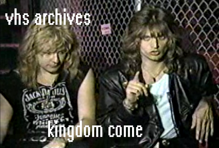VHS Archives #64:  Kingdom Come interview (1989)