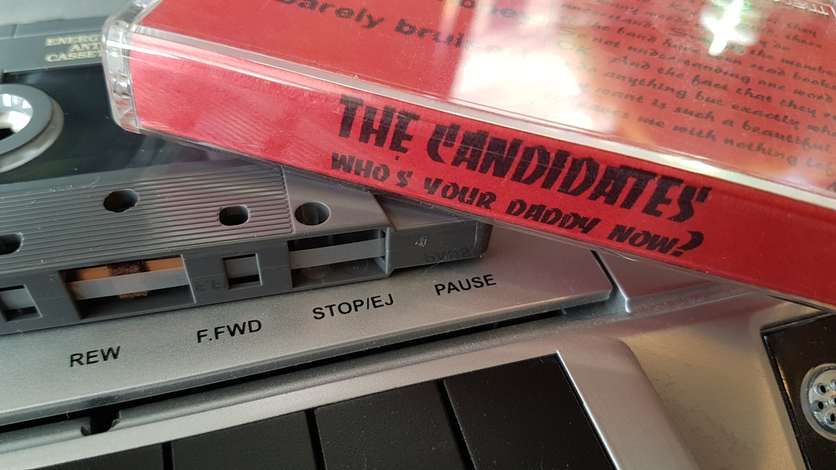 REVIEW:  The Candidates - Who's Your Daddy Now? (1998 EP)