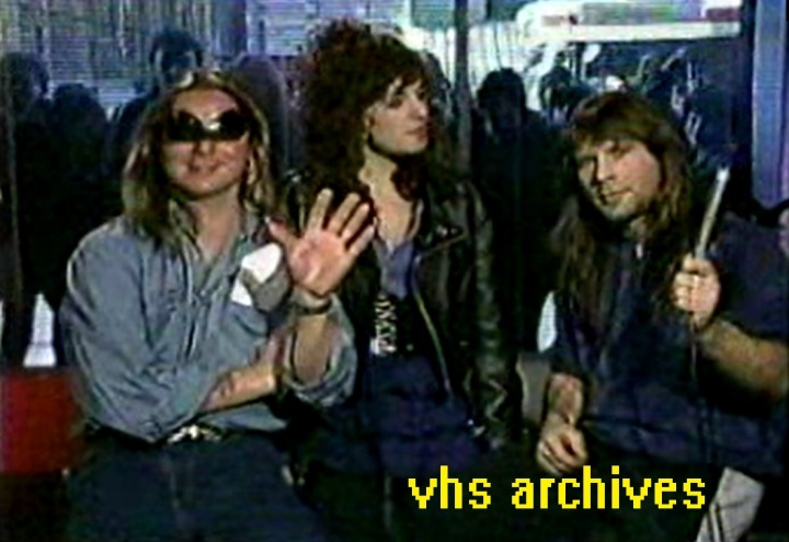 VHS Archives #75:  The craziest Iron Maiden interview you'll ever see(1988)
