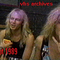 VHS Archives #80:  Accept interview (1989)