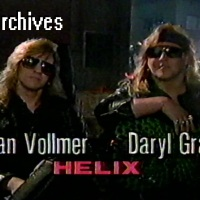 "VHS Archives #92:  On the set of ""The Storm"" with Helix (1990)"