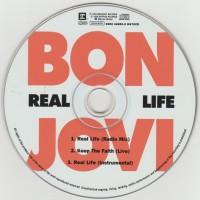 """REVIEW:  Bon Jovi - """"Real Life"""" (1999 CD singles)"""