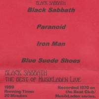 REVIEW:  Black Sabbath - The Best of MusikLaden Live at the Beat Club