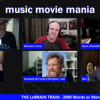 Music Movie Mania on the LeBrain Train
