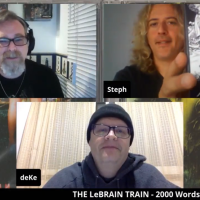 Steph Honde talks music, collecting, gigs, stories and lots more on the LeBrain Train