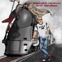 Martin Popoff - Top of the Bill on this week's LeBrain Train - Friday Jan. 15