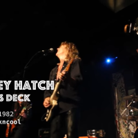 "Sunday Screening:  Coney Hatch - ""Devil's Deck"" live at Maxwell's"