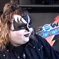 VHS Archives #103:  Paul Stanley of KISS with Slaughter & Dan Gallagher (in full Gene makeup)