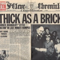 """REVIEW:  Jethro Tull - Thick As A Brick (1972, 25th Anniversary """"newspaper""""  CD edition)"""
