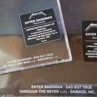 REVIEW:  Metallica - Enter Sandman (Remastered 2021 German CD singles)