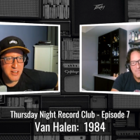 Sunday Screening:  Thursday Night Record Club - Fair Warning, Diver Down, 1984